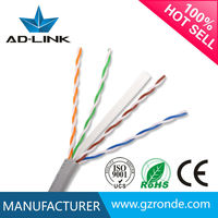 Lan Cable UTP cat6 cable drum Cable 4 Pairs 23 Awg/Cat6 Cable