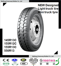 China factory NEW Designed TBR tires 145R13C 155R12C 155R13C 5.50R13 with high quality radial