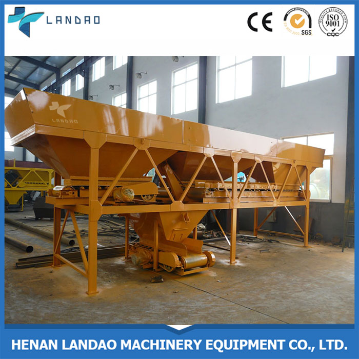 PLD1200 Construction Aggregate Cement Ready Mixed Batching Hopper