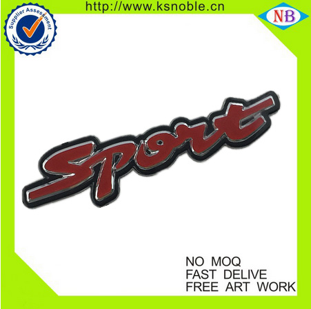 Customized ABS material car badges emblems