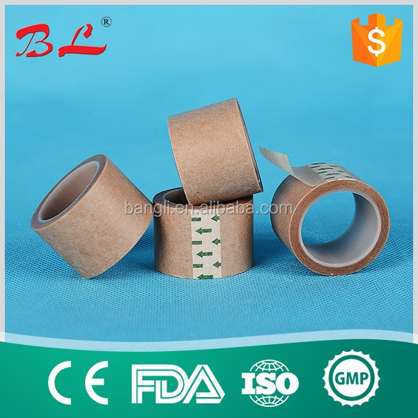 "Skin Color Medical Tape Micropore Plaster Surgical Paper Tape 1""X5 Yards Hypoallergenic"