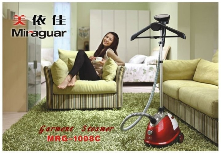 1800ml high quality linen care new electrical appliances steam quick iron fabric garment steamer for hotel