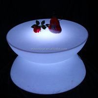 event led light dining table coffee table acrylic led bar tables and chairs