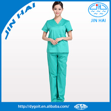 Customized tunic cotton hospital nurse/doctor clothes