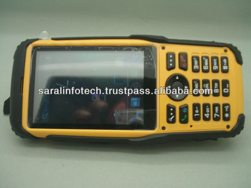 Industrial PDA handheld Android 4.1 with 13.56Mhz HF Reader & Barcode Reader