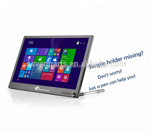 Amazon hot selling 11.6 inch mini laptop lcd monitor with touch optional ultra-thin usb portable monitor