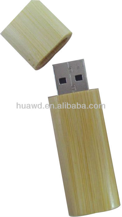 Customize Logo Bamboo Wood USB Flash Drive 2.0 Memory Stick 4GB 8GB