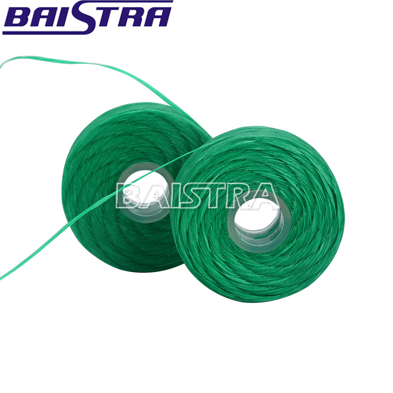 High Quality 750D Mint Colored Green Bamboo Charcoal Dental Floss