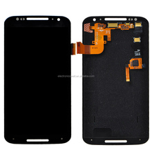 Wolesale LCD Screen Display With Digitizer Touch Panel, LCD Assembly For Motorola Moto X+1 2nd 2 Gen XT1096 Black