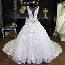 Amazing Wholesale Price High Quality OEM Russian Expensive Lace Wedding Dress Bridal Gown