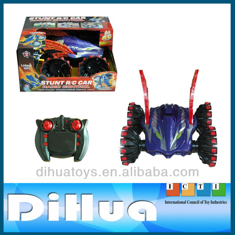 2016 Hot Funny Plastic High Quality Toy RC Stunt Car