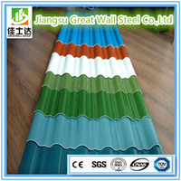 Building Materials Full Hard 51D+Z Galvanized Corrugated Metal Zinc Roofing Sheet
