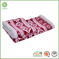 Fashionable Fluffy Flannel Sherpa Korean Blanket