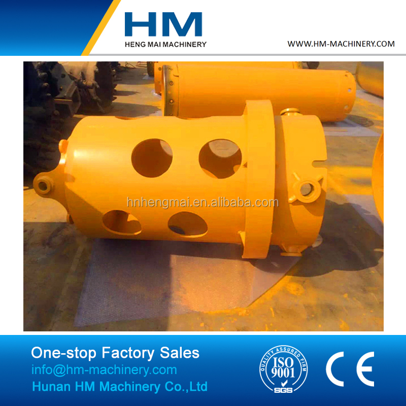 Heavy Duty Rotary Drill Rigs Casing Drive Adaptor For Bauer