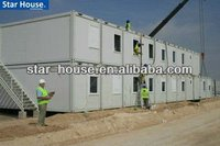2-storey Container House for Construction Site