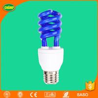 E27 Blue Spiral Fluorescent Lamp Light Bulb