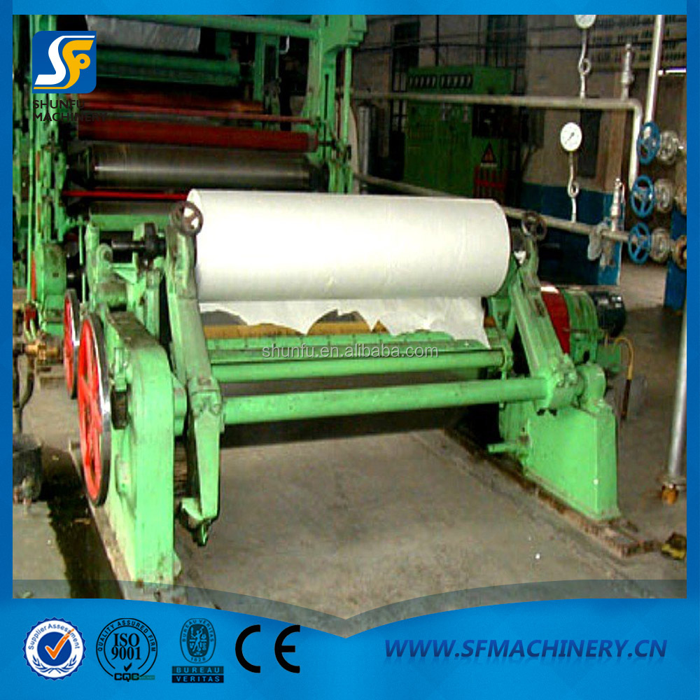 Tissue Mill Toilet Paper Roll Making Machine Price For Sale