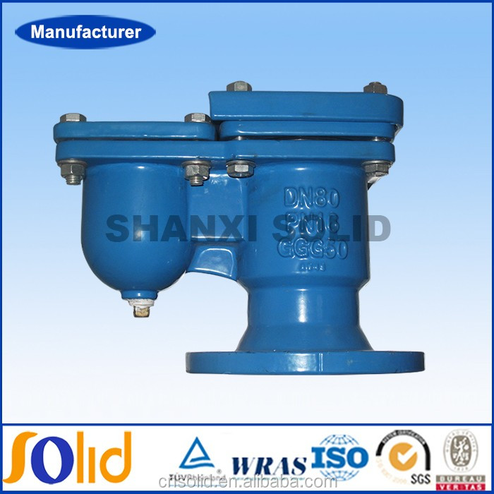 Ductile Cast iron Automatic Air Release Valve For Liquid / Water Air Relief Valve