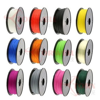 High quality ABS, PLA 3D Printer Filament, RoHS approval