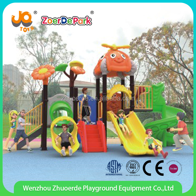 outdoor plastic tube slide swing Playground Garden Park slide manufacturer