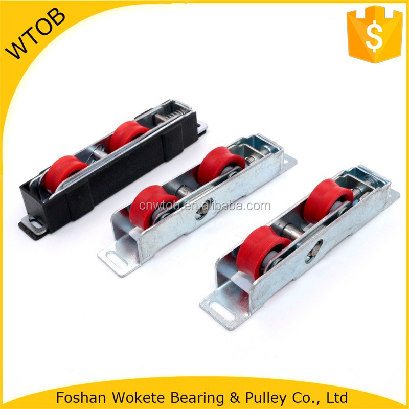 Window Hardware Sliding Window Roller Steel Housing Window Small Roller Wheel Nylon Guide Roller