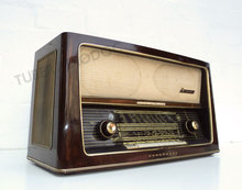 Antique Radio German NordMende Othello 58 Restored