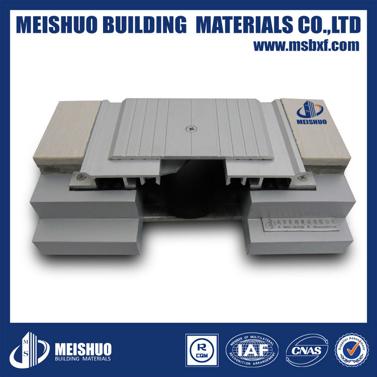 waterstop flexible aluminium alloy expansion joint cover