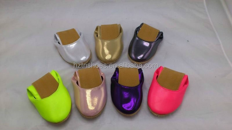 Women rollable foldable shoes travel after party foldable ballerinas shoe