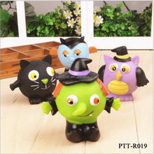 Latex Monster Shape Series Funny Dog Chew Sound Toys for Small Animals