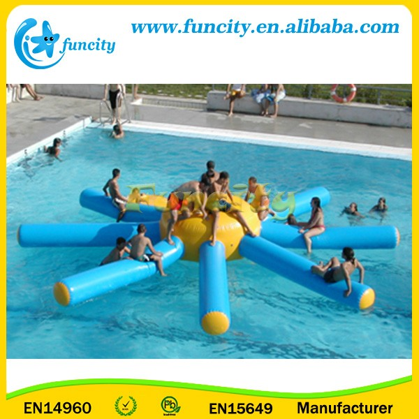 Giant Inflatable Floating Toy, PVC Tarpaulin Portable Swimming Pool, Beach, Lake