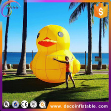 lovely advertising cartoon model inflatable duck