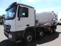 Concrete Mixer Mercedes Benz Actros 3540 equiped with Stetter Schwing 10 cubic m Mixer