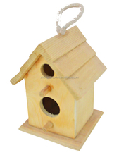 2015 year china factory ISO9001FSC&SA8000 OEM gift wood wild bird house kits for kids