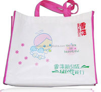 8 years manufacturer of reusable promotion compact reusable shopping bag