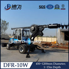 DFR-10W truck mounted hydraulic press pile machine