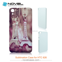 Hot Sale 3D Sublimation Phone Case Cover for HTC Desire 826 DIY Phone Case Cover