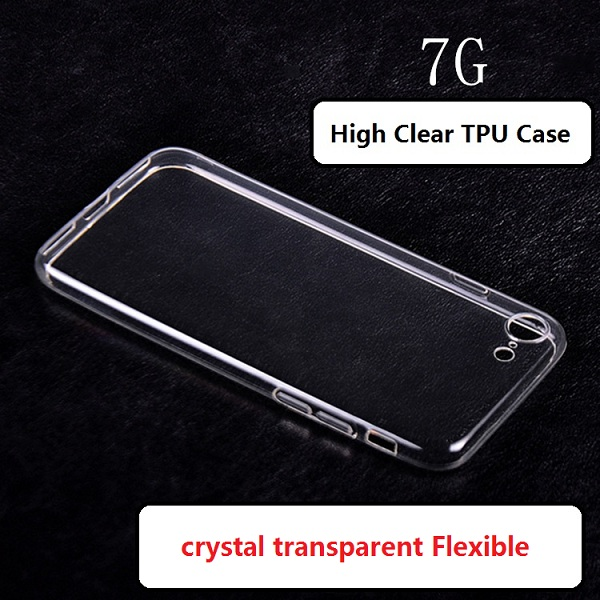 clear shell switch case for iPhone 7 tpu frosted shell soft case protective skin cover