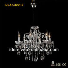 China chandeliers crystal, chandelier crystal stones new factory product C3061-6, 17 years manufacturer
