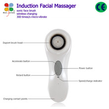 2015 popular ultrasonic electric face brush sonic facial brush