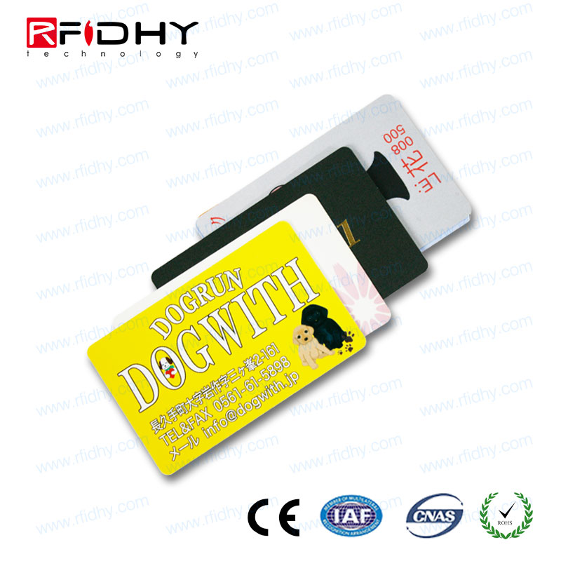 Best Seller Waterproof 125khz RFID Access scanner guard cards fitted into wallet