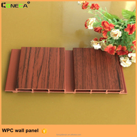 Wholesale weather resistant wall decoration wood plastic composite interior wall panels