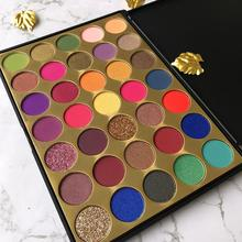 Professional cream makeup private label eyeshadow pigment make up palette eye shadow
