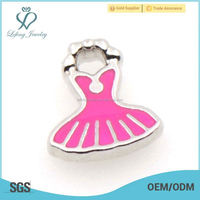 2015 New Ladies simple fashion Dress floating charms for Floating Locket, charms for ladies