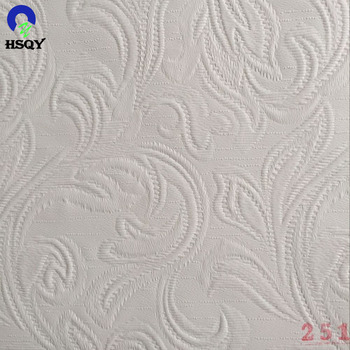 Embossed PVC Ceiling Film For PVC Laminated Gypsum Ceiling Tiles