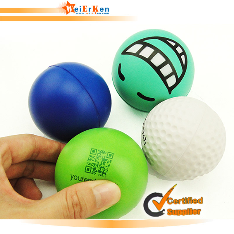 Customize kidney shape breast stress ball