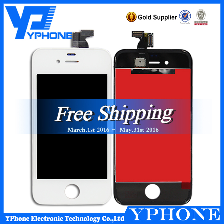 wholesale lcd with digitizer assembly for iphone 4,new lcd screen flex cable for iphone 4,oem for iphone 4 lcd digitizer
