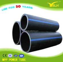 high density polyethylene HDPE Poly Pipe for Water Supply and Irrigation System