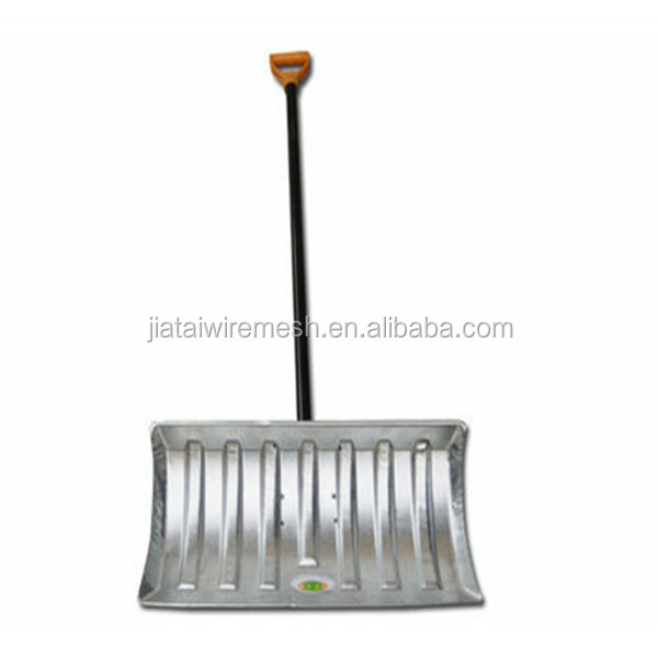 JTM Heavy Duty Snow Pusher/Snow Shovel/Adjustable Ice Scraper