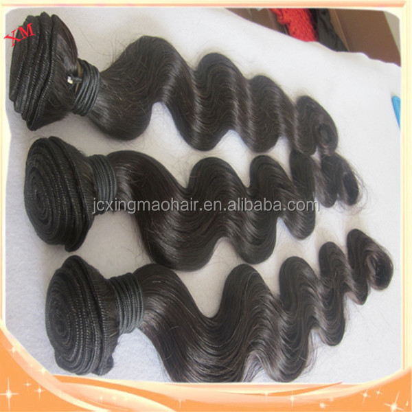 2015 black virgin unprocessed body wave silk hair for women