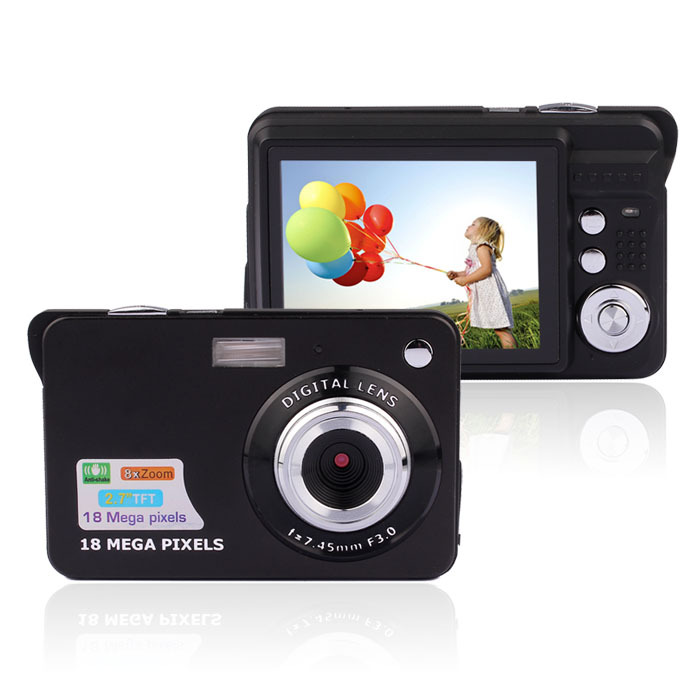 "Max 18MP 2.7"" TFT LCD Slim Digital Camera ( DC-530)"